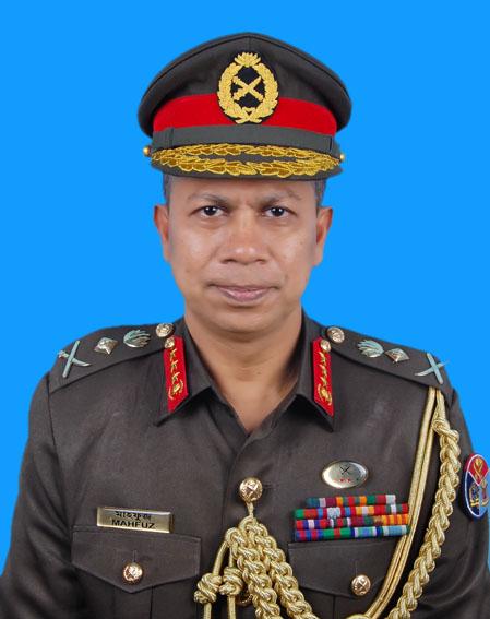 Lt General Md Mahfuzur Rahman, rcds, ndc, afwc, psc, PhD
